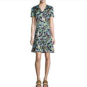 Tory Burch Garden Wisteria Dress. Size 6. NWT.